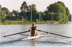 GRC rowing scull